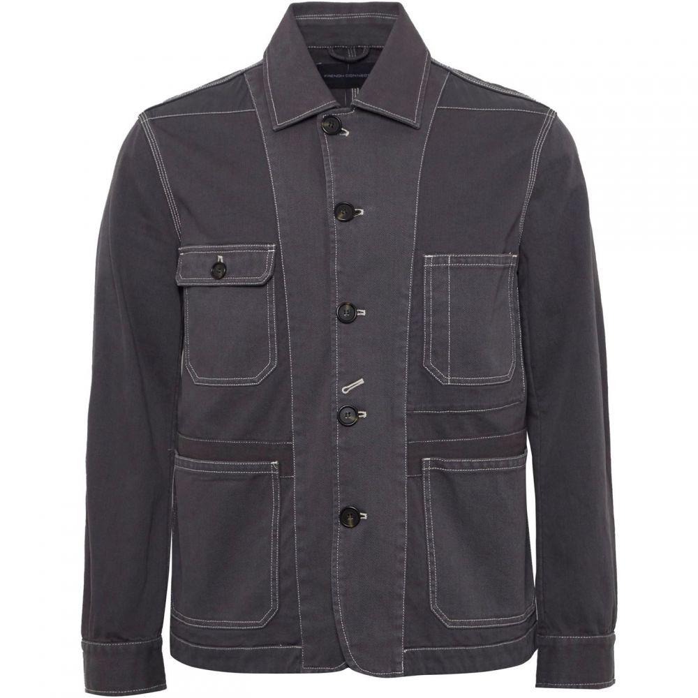 フレンチコネクション French Connection メンズ アウター ジャケット【Pigment Garment Dye Mix Jacket】Mid Grey