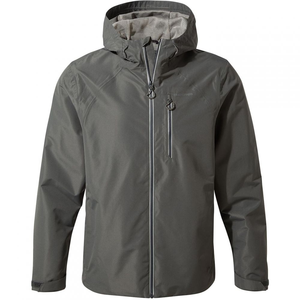 クラッグホッパーズ Craghoppers メンズ アウター ジャケット【Dino Waterproof Hooded Jacket】Dark Grey