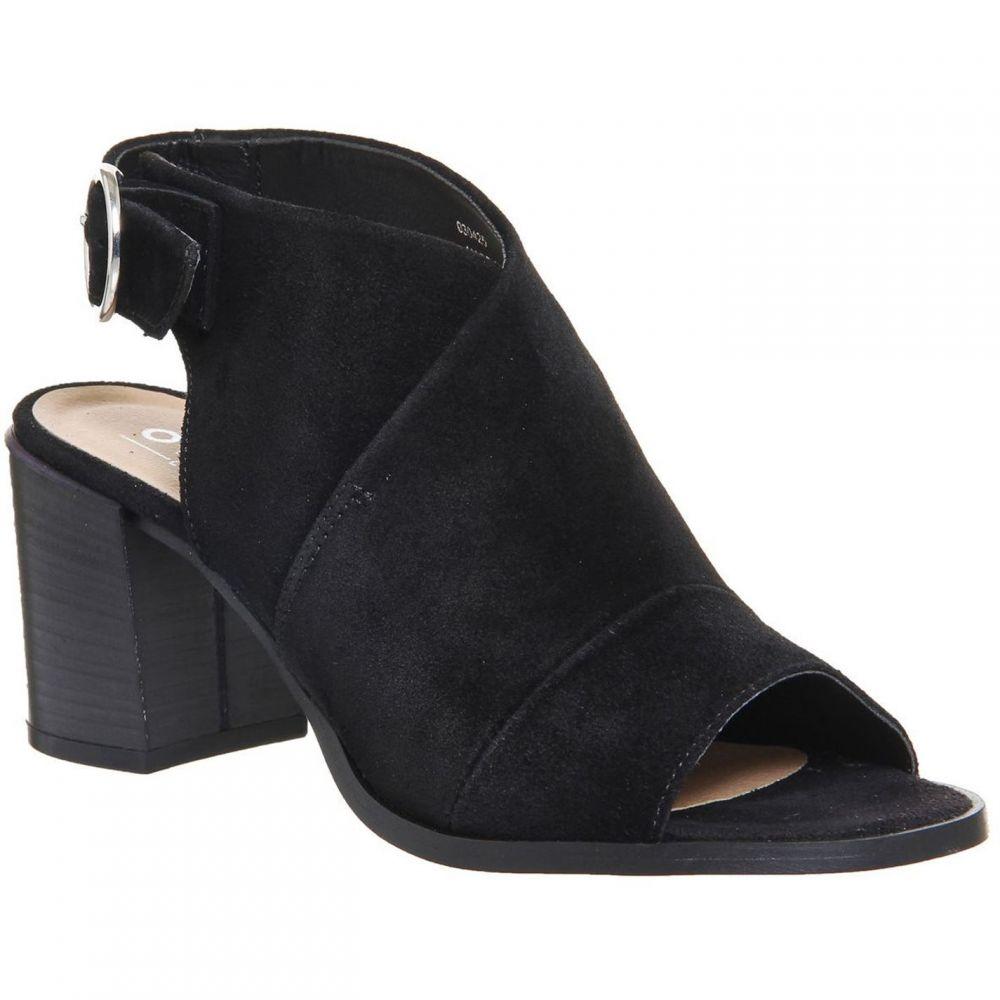 オフィス Office レディース シューズ・靴 ブーツ【Mysterious Block Heel Shoeboots】Black Suede