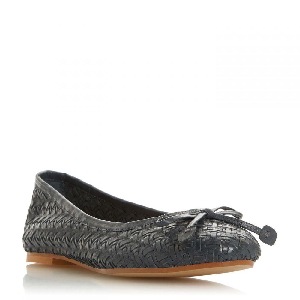 デューン Dune レディース シューズ・靴 スリッポン・フラット【Heavenn Woven Ballerina Shoes】Navy