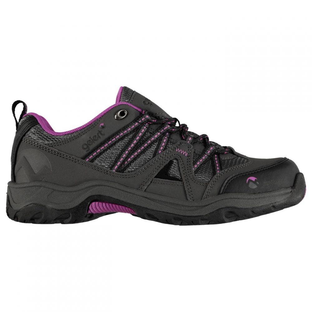 ジェラート Gelert レディース ランニング・ウォーキング シューズ・靴【Ottawa Low Walking Shoes】Charcoal/Purple