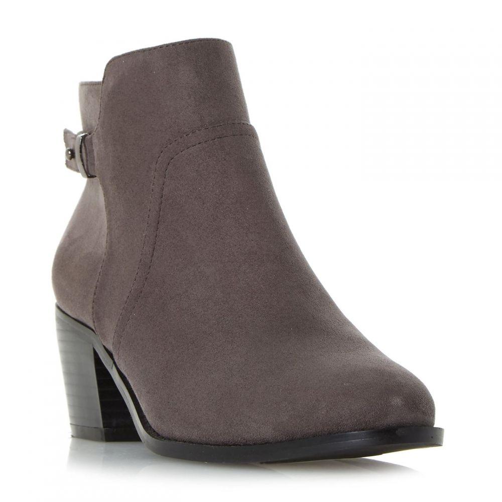 ヘッドオーバーヒールズ Head Over Heels レディース シューズ・靴 ブーツ【Pascalle Buckle Strap Ankle Boots】Grey