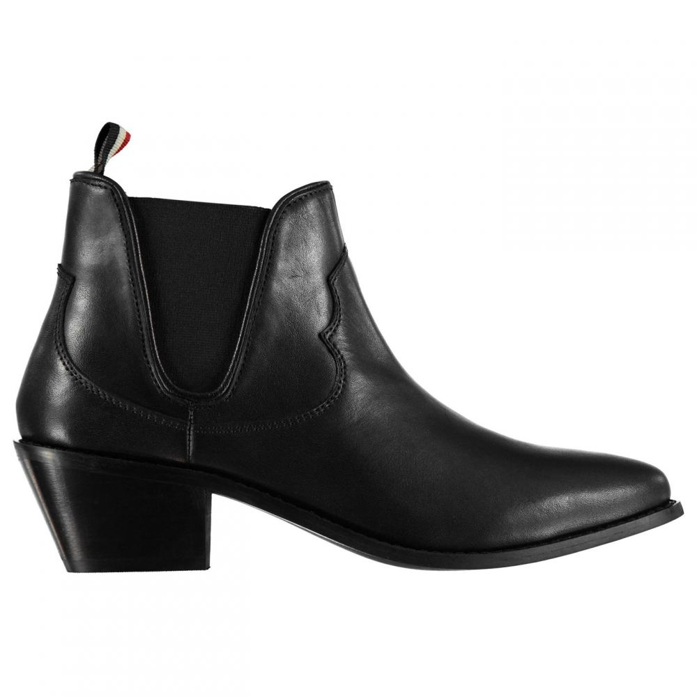 フゥード Feud レディース シューズ・靴 ブーツ【Rico Chelsea Boots】Black Leather