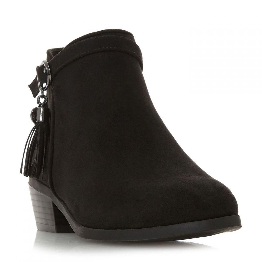 ヘッドオーバーヒールズ Head Over Heels レディース シューズ・靴 ブーツ【Palomma Tassel Trim Ankle Boots】Black