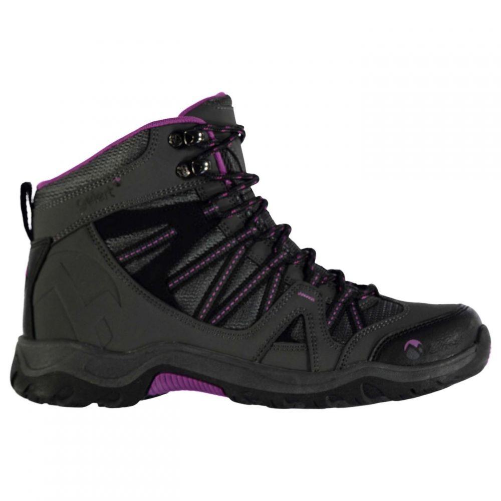 Mid レディース ブーツ【Ottawa ジェラート Boots】Charcoal/Purple Gelert シューズ・靴 Walking