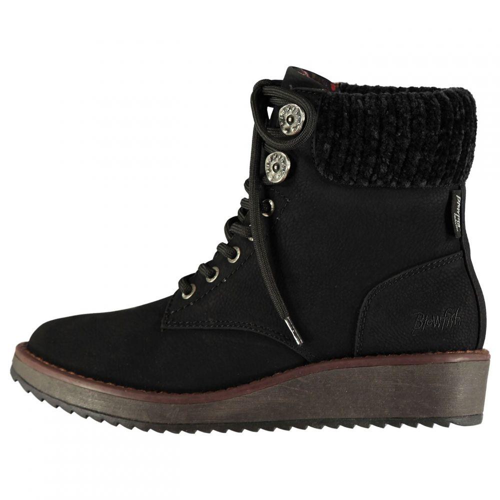 ブローフィッシュ Blowfish レディース シューズ・靴 ブーツ【Chomper Boots】Black Sddlrck