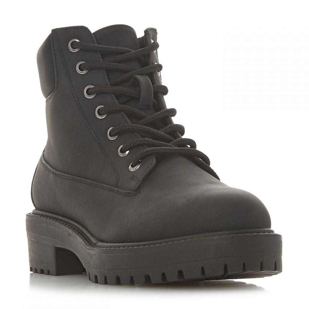ヘッドオーバーヒールズ Head Over Heels レディース シューズ・靴 ブーツ【Peggyy Padded Collar Lace Up Boots】Black