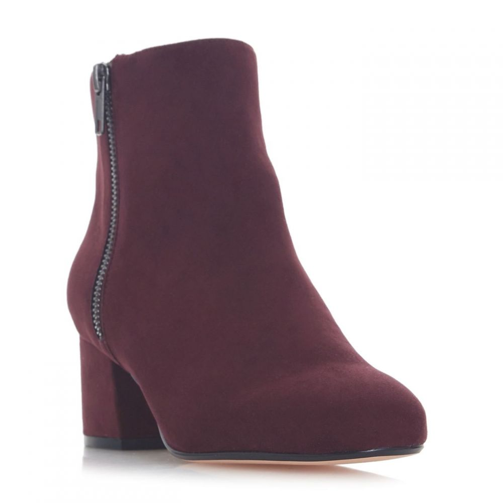 リネアペレ Linea レディース シューズ・靴 ブーツ【Otti Block Heel Zip Boots】Burgundy