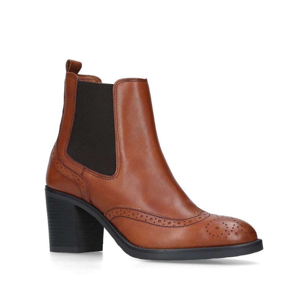 カーヴェラコンフォート Carvela Comfort レディース シューズ・靴 ブーツ【Raquel Ankle Boots】Brown