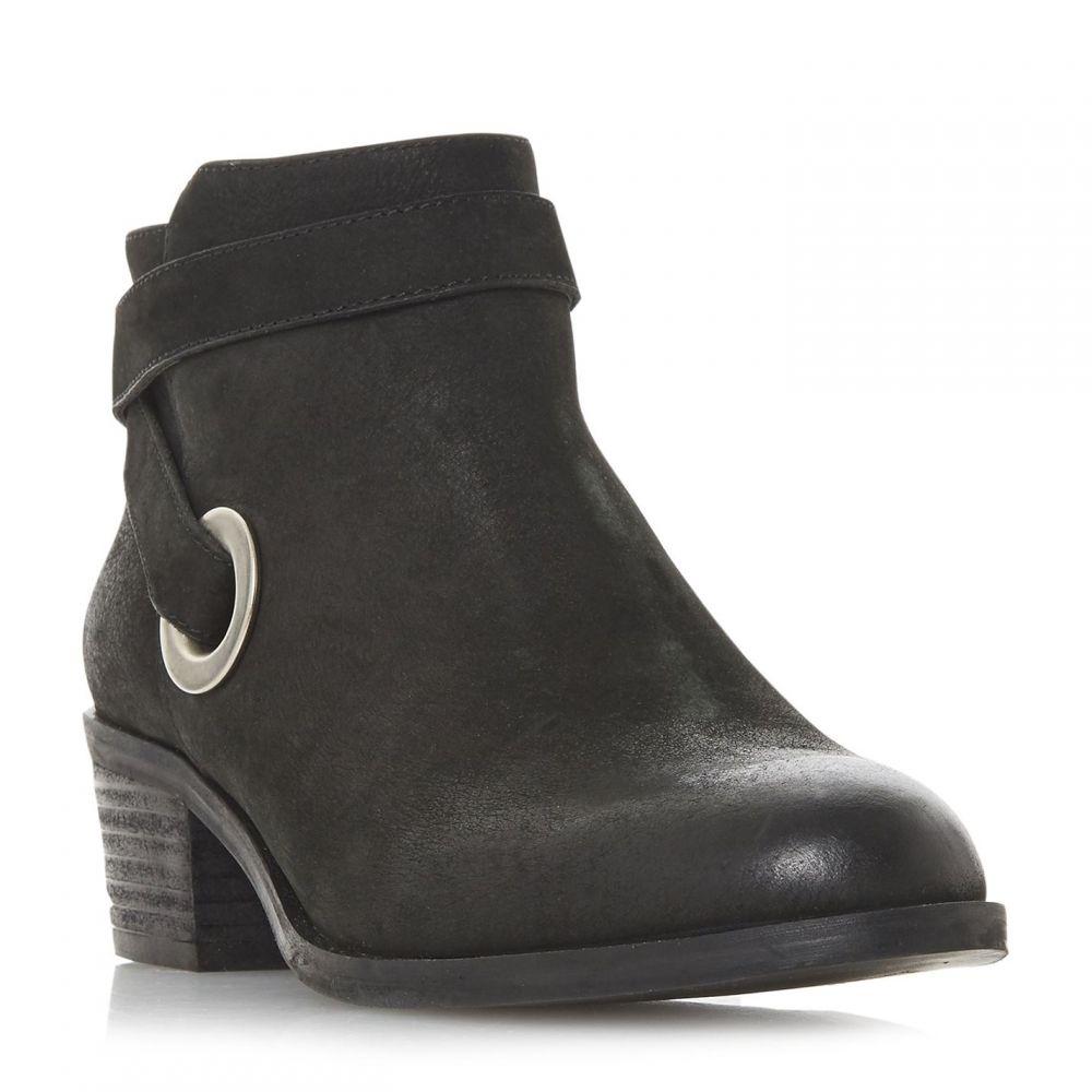 スティーブ マデン Steve Madden レディース シューズ・靴 ブーツ【Yersey Sm Western Strap Ankle Boots】Black