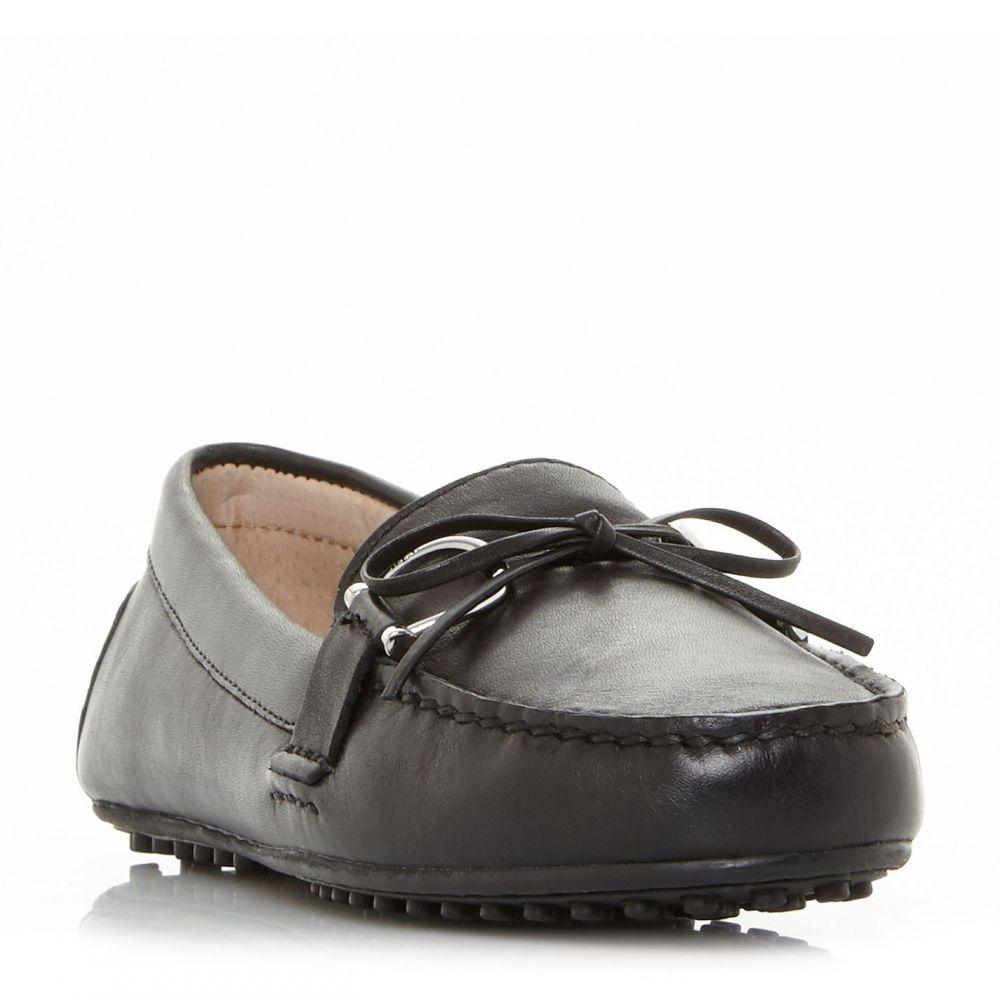 ローレンマーキン Lauren レディース シューズ・靴 ローファー・オックスフォード【Briley Bow Detial Loafers】Black