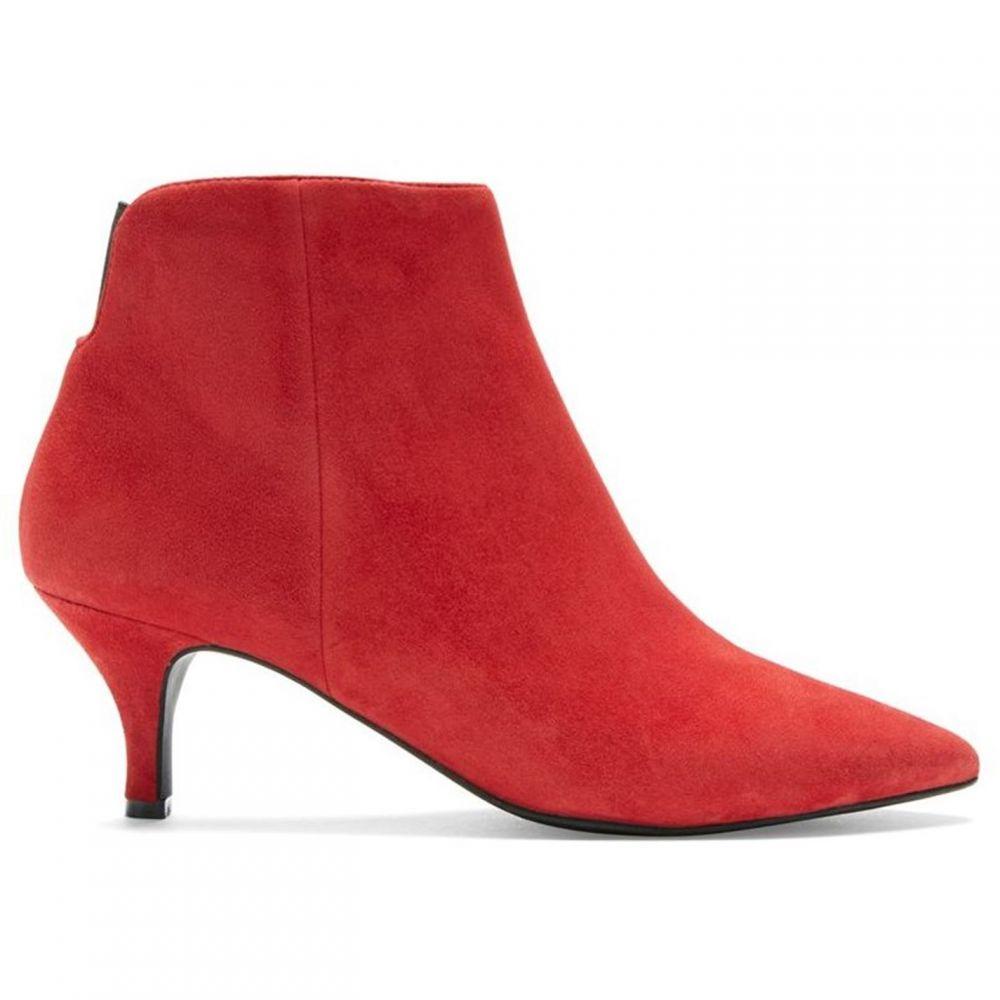 ミルトン ベルベット Mint Velvet レディース シューズ・靴 ブーツ【Tommie Red Ankle Boot】Red