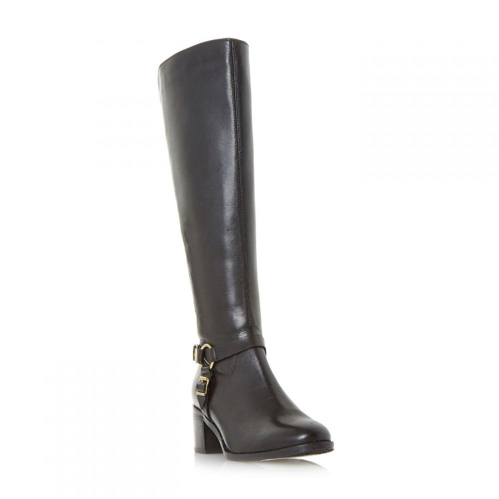 デューン Dune レディース シューズ・靴 ブーツ【Vicky Stretch Back Kneehigh Boots】Black