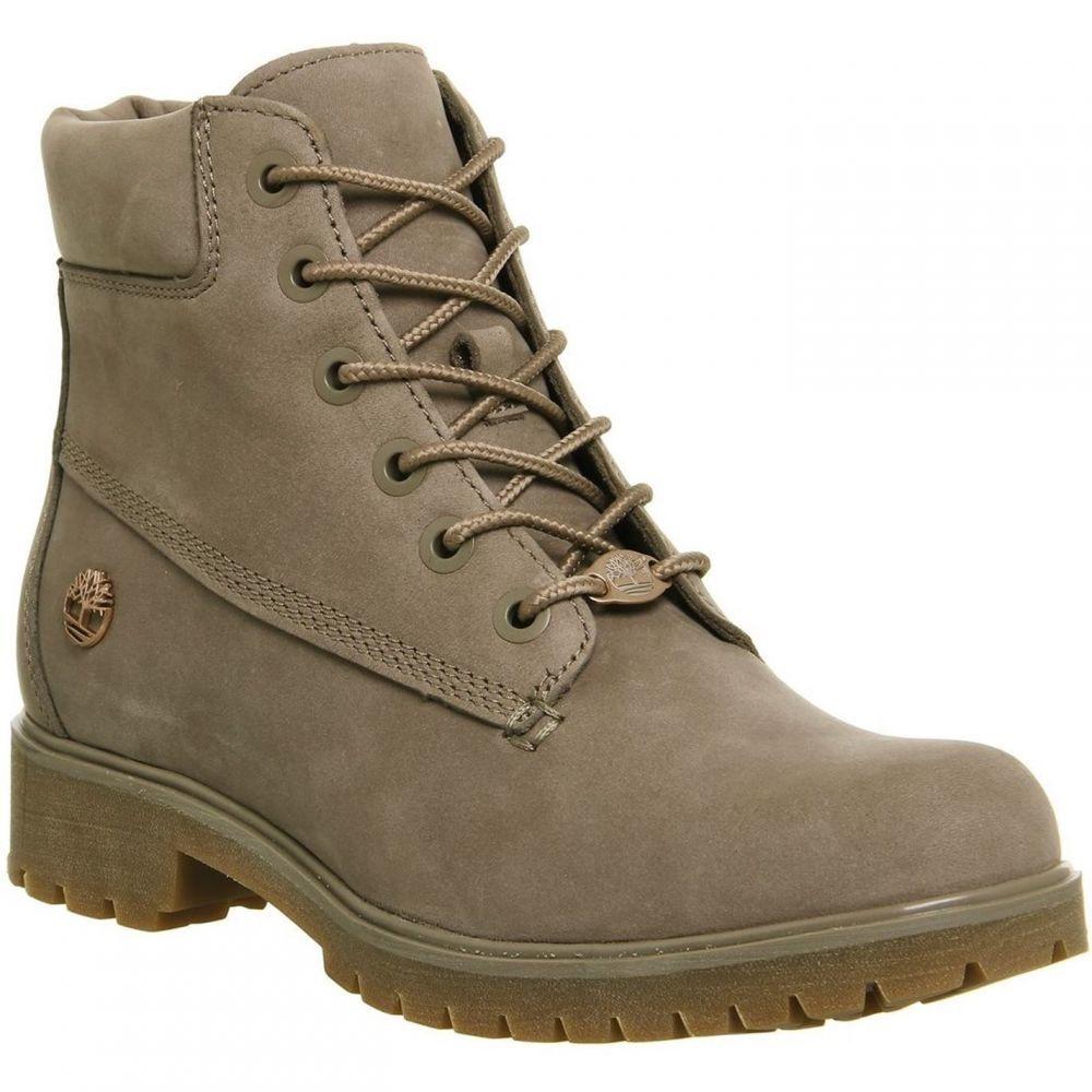 ティンバーランド Timberland レディース シューズ・靴 ブーツ【Slim Premium 6 Inch Boots】Brown