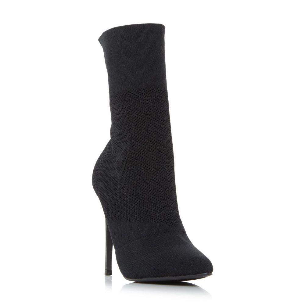 スティーブ マデン Steve Madden レディース シューズ・靴 ブーツ【Centuryy SM Stretch Knit Boots】Black