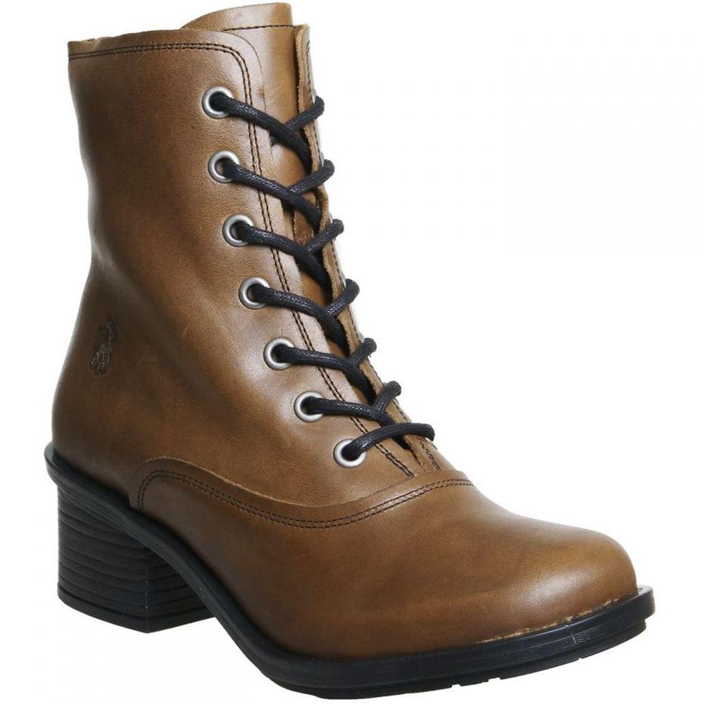 フライロンドン Fly London レディース シューズ・靴 ブーツ【Carm Lace Boots】Brown