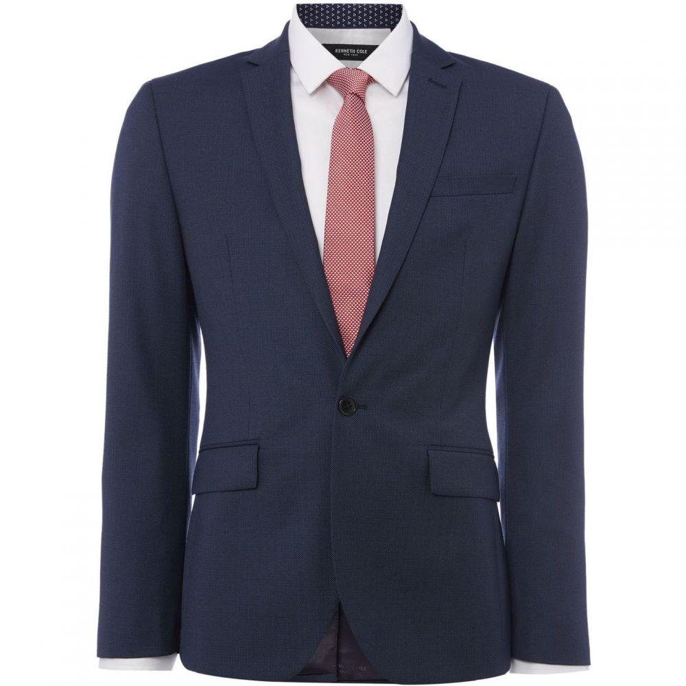 ケネス コール Kenneth Cole メンズ アウター スーツ・ジャケット【Rivington Slim Fit Birdseye Suit Jacket】Blue