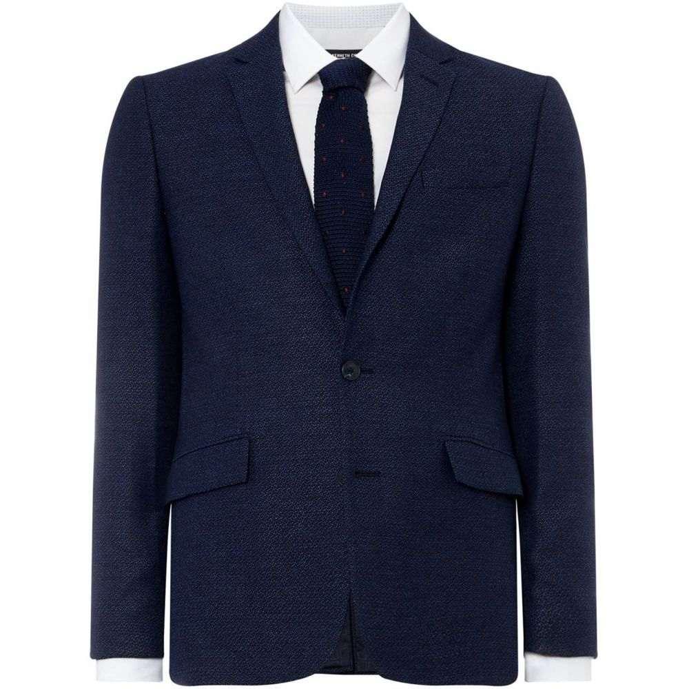 ケネス コール Kenneth Cole メンズ アウター スーツ・ジャケット【Diego Textured Blazer】Blue