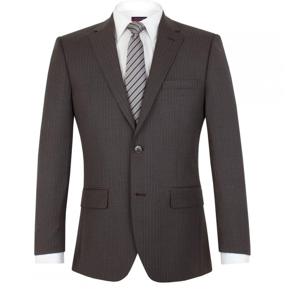 ピエール カルダン Pierre Cardin メンズ アウター スーツ・ジャケット【Halkirk stripe regular fit jacket】Grey