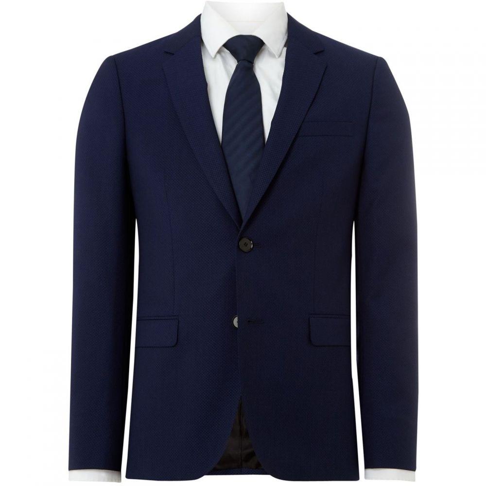 ヒューゴ ボス Hugo メンズ アウター スーツ・ジャケット【Astian Extra Slim Felix Structure 2pc Suit Jacket】Blue