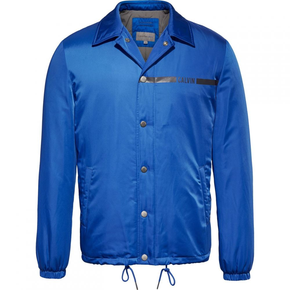 カルバンクライン Calvin Klein Jeans メンズ アウター ジャケット【Obu Padded Coach Jacket】Cobalt