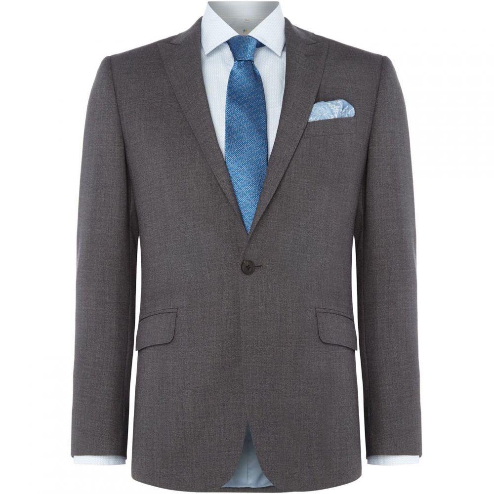 リチャード ジェームス Richard James メンズ アウター スーツ・ジャケット【Mouline Daniel Suit Jacket】Grey