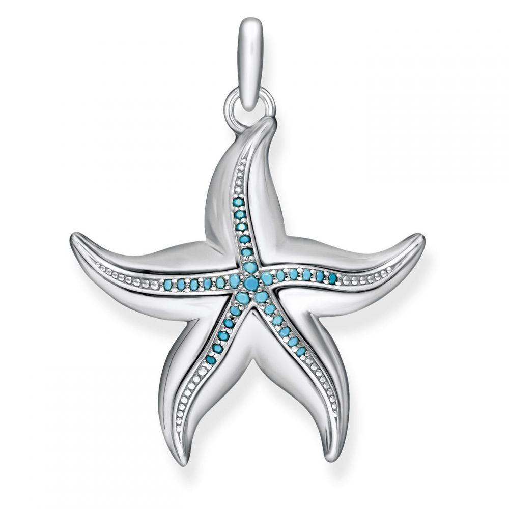 トーマスサボ Thomas Sabo レディース ジュエリー・アクセサリー【Ocean Stars Zirconia Starfish Pendant】Turquoise