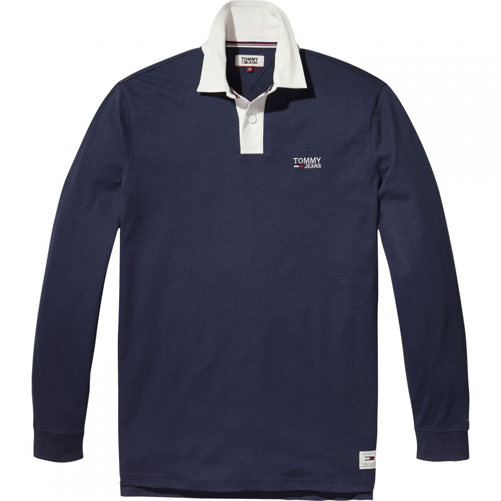 トミー ヒルフィガー Tommy Hilfiger メンズ トップス ポロシャツ【Tommy Jeans Classic Rugby Shirt】Dark Blue