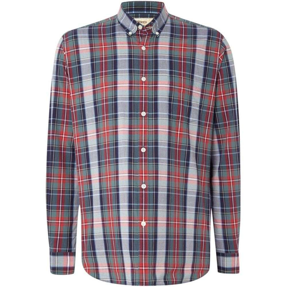 ティーエム レウィン TM Lewin メンズ トップス【Check Button Down Shirt】Red