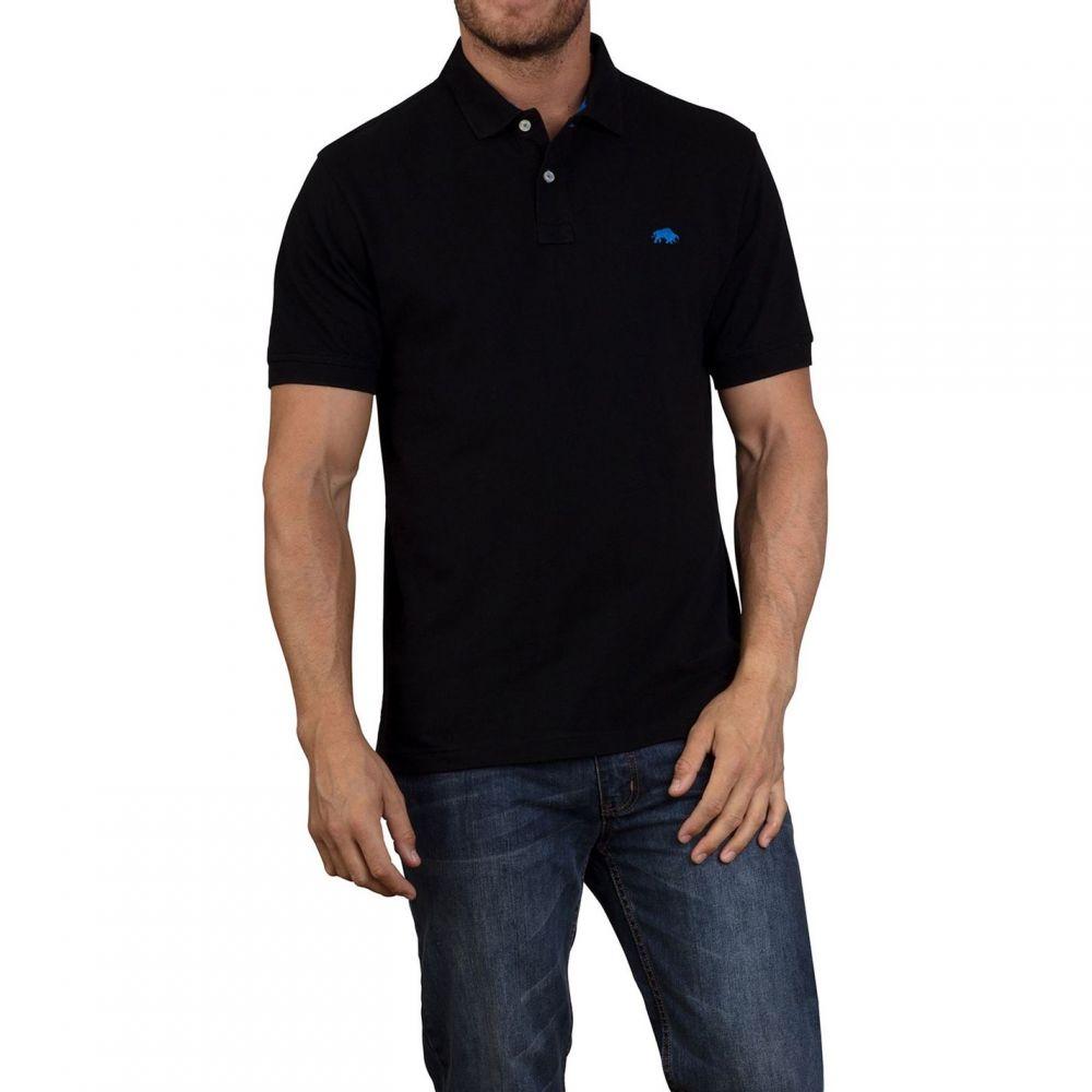 ライジング ブル Raging Bull メンズ トップス ポロシャツ【New Signature Polo Shirt】Black