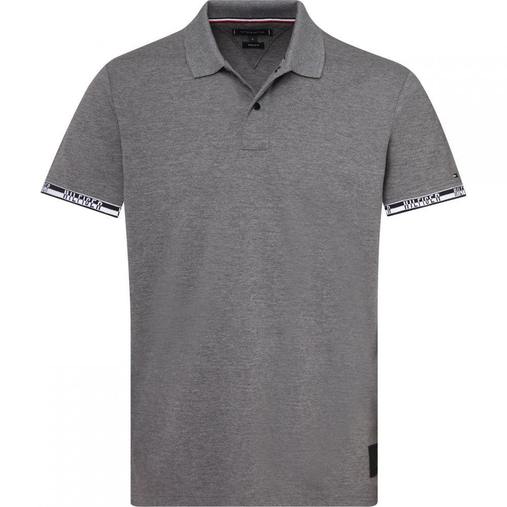 トミー ヒルフィガー Tommy Hilfiger メンズ トップス ポロシャツ【Badge Regular Fit Polo Top】Grey