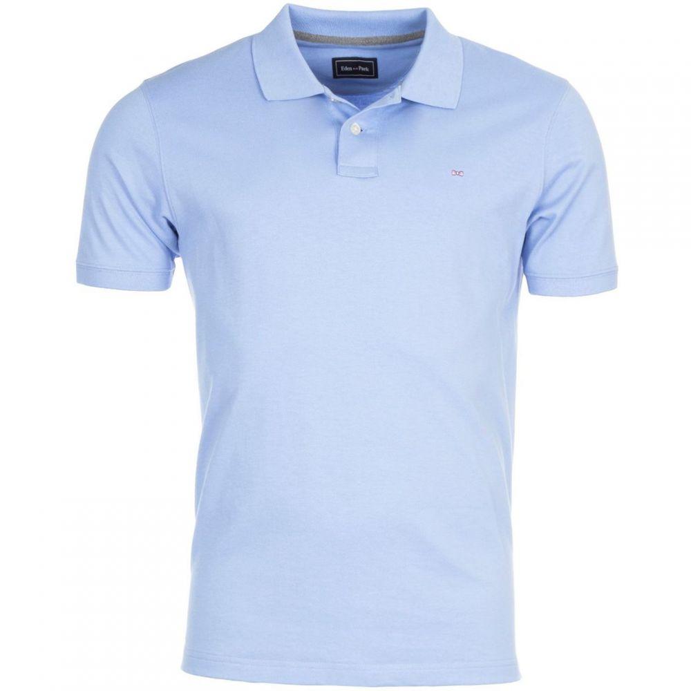 エデン パーク Eden Park メンズ トップス ポロシャツ【Polo Basic Stretch】Blue