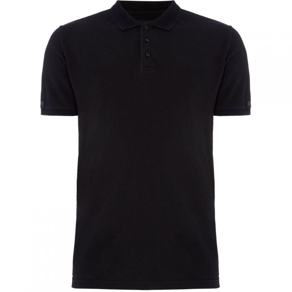 タイガー オブ スウェーデン Tiger of Sweden メンズ トップス ポロシャツ【Lenhart Polo Shirt】Black