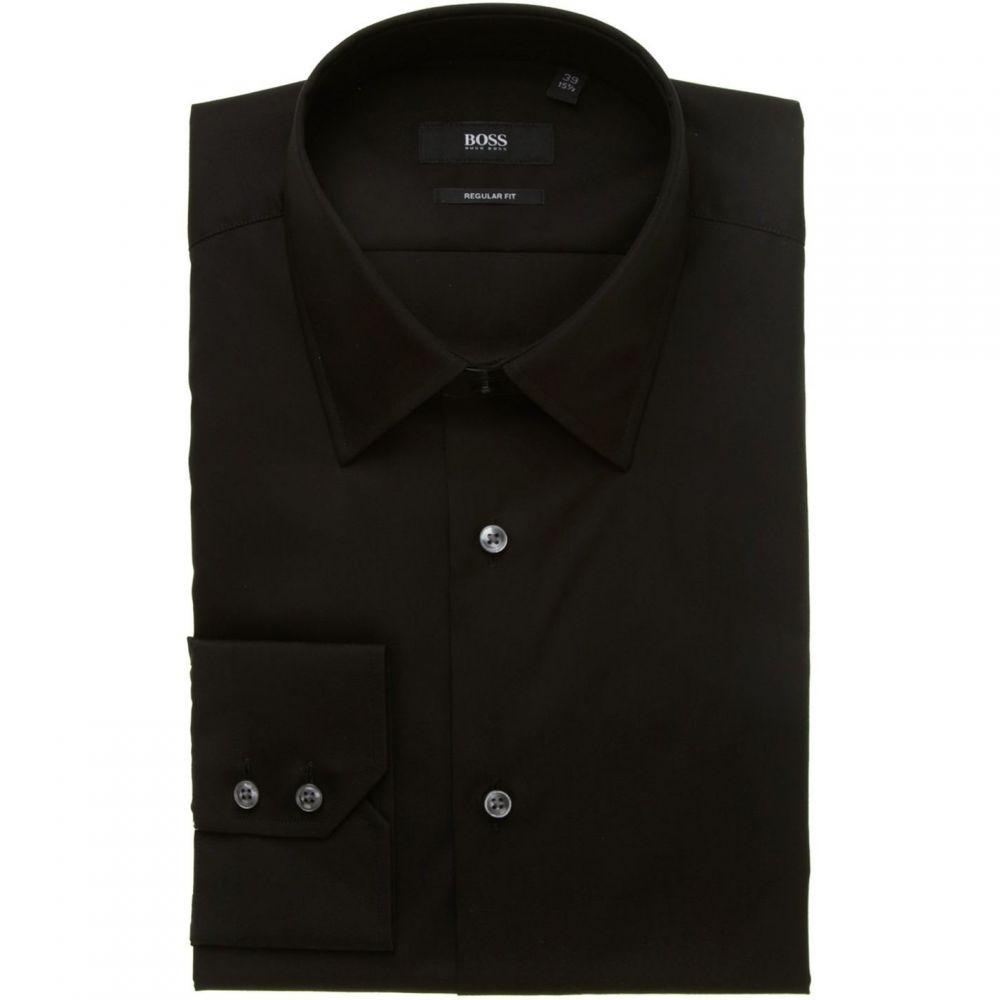 ヒューゴ ボス Hugo Boss メンズ トップス【Enzo regular fit shirt】Black