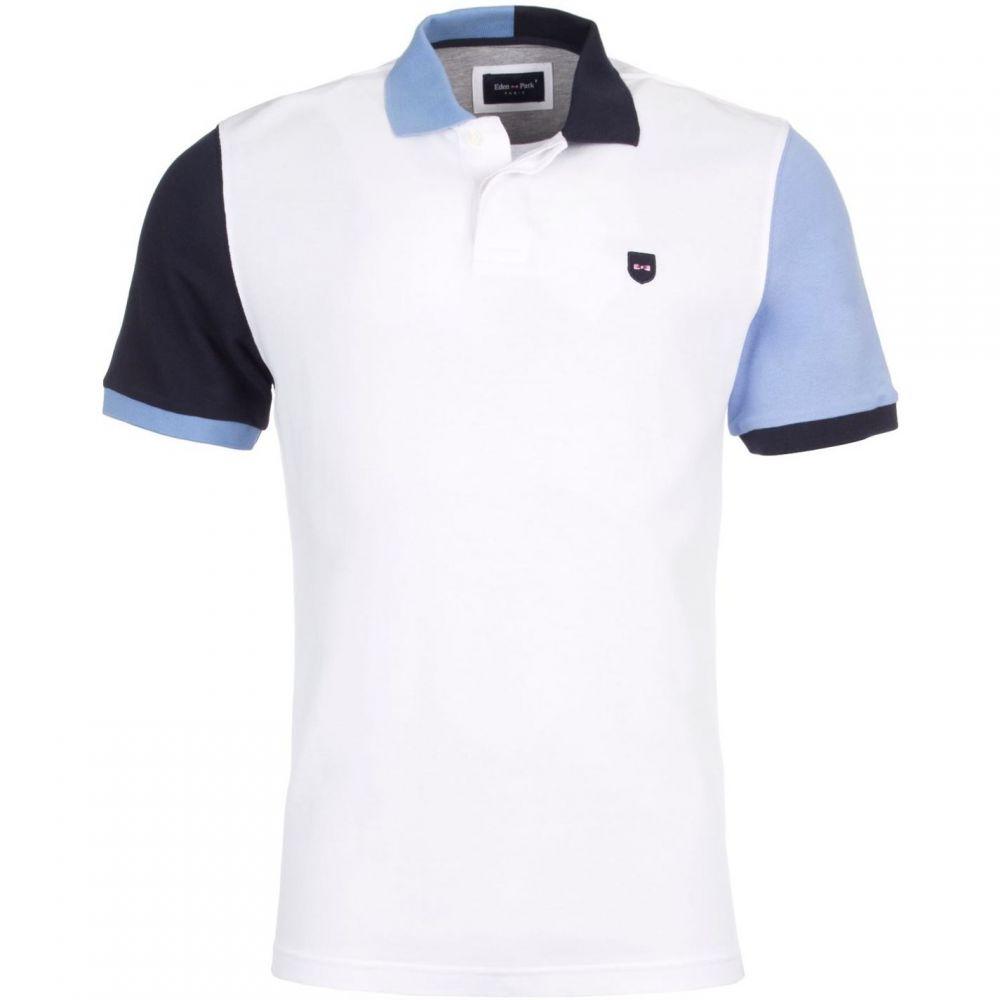 エデン パーク Eden Park メンズ トップス ポロシャツ【3 Tone Polo Shirt】White