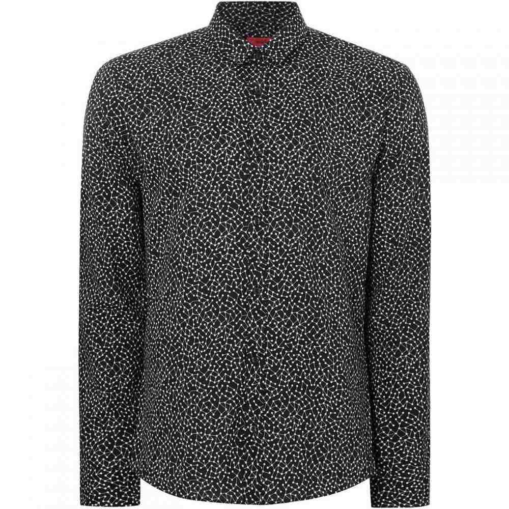 ヒューゴ ボス Hugo メンズ トップス【Ero Atom All Over Print Shirt】Black