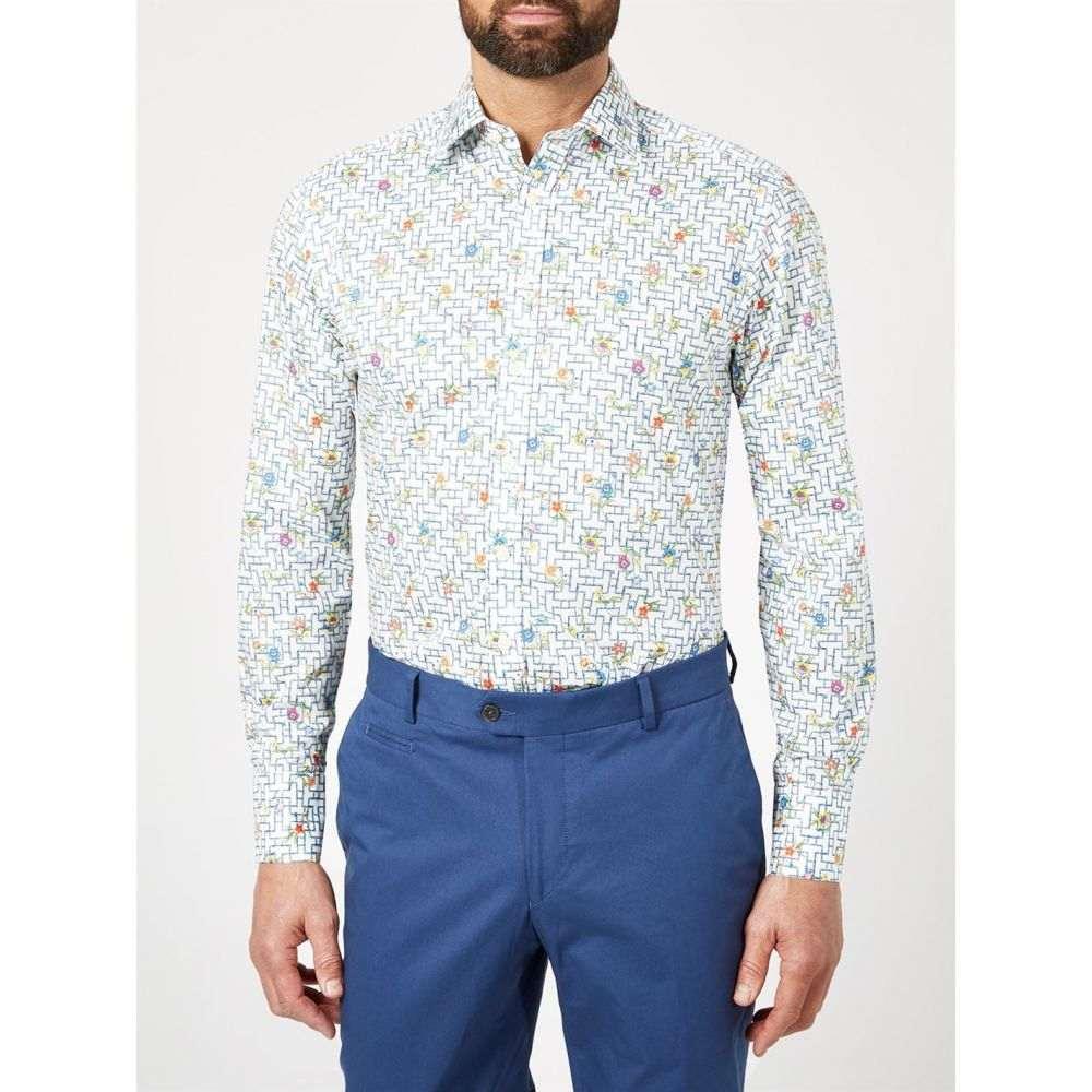 サイモン カーター Simon Carter メンズ トップス【Liberty Pagoda Floral Print Shirt】Multi-Coloured