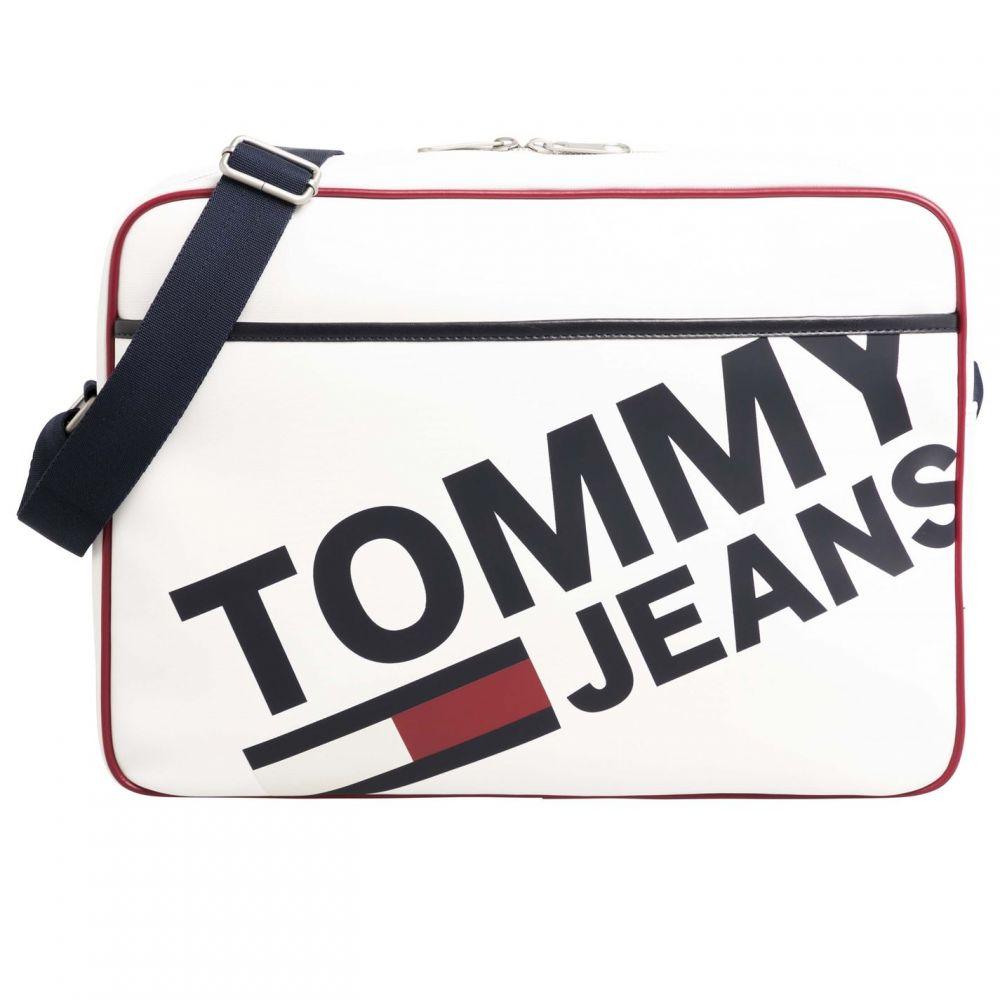 トミー ジーンズ Tommy Jeans メンズ バッグ【Carmel Cooler Bag】Classic White