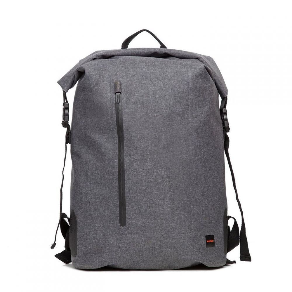 Knomo Cromwell Roll バッグ Khaki Backpack in Laptop Top パソコンバッグ【Thames メンズ クノモ 15】Grey