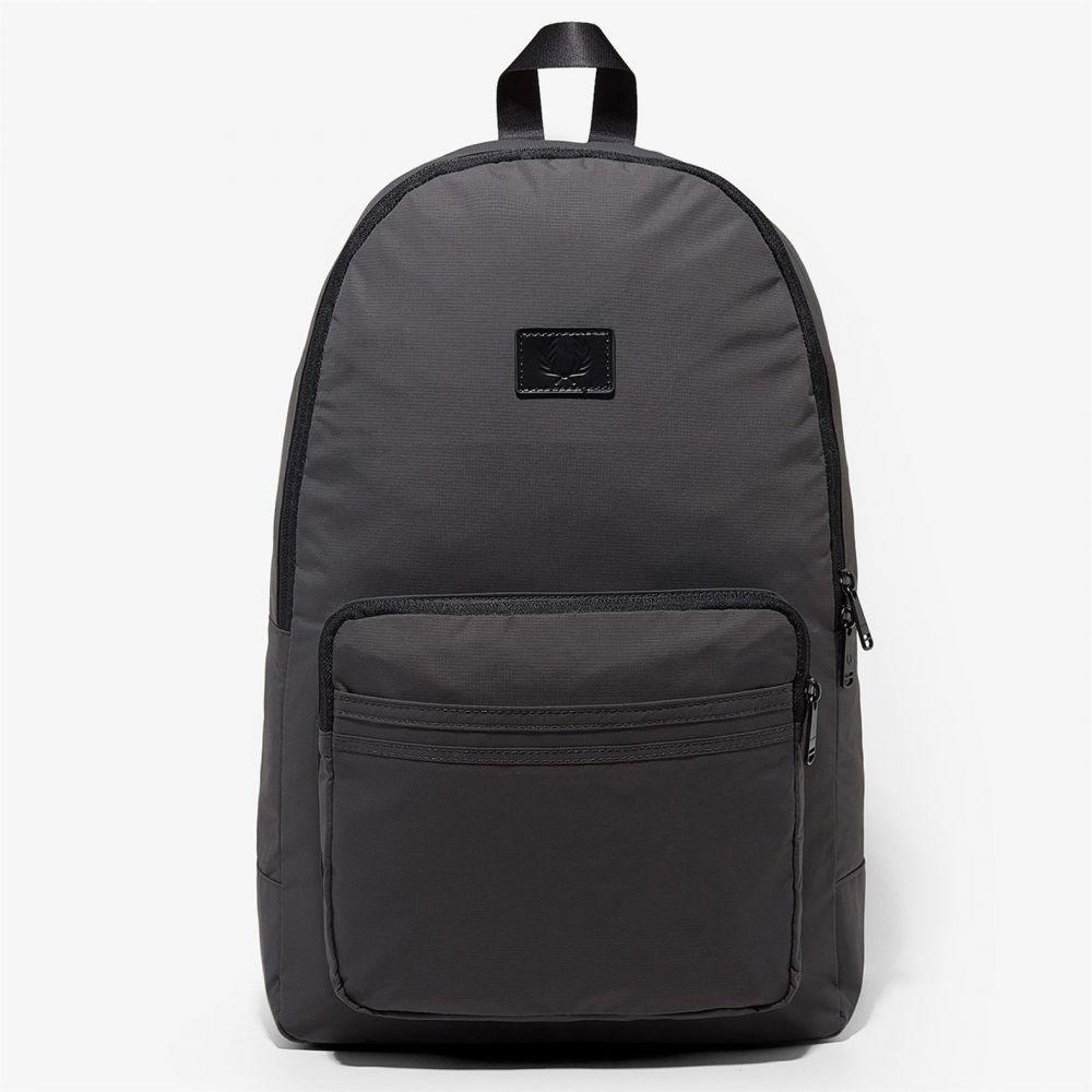 フレッドペリー Fred Perry メンズ バッグ バックパック・リュック【Ripstop logo backpack】Charcoal