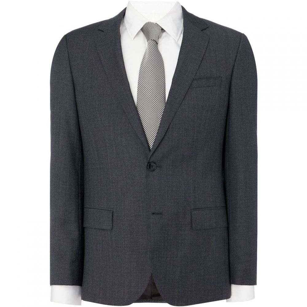 ヒューゴ ボス Hugo メンズ アウター スーツ・ジャケット【Henry Slim Micro Structure 3PC Suit Jacket】Charcoal
