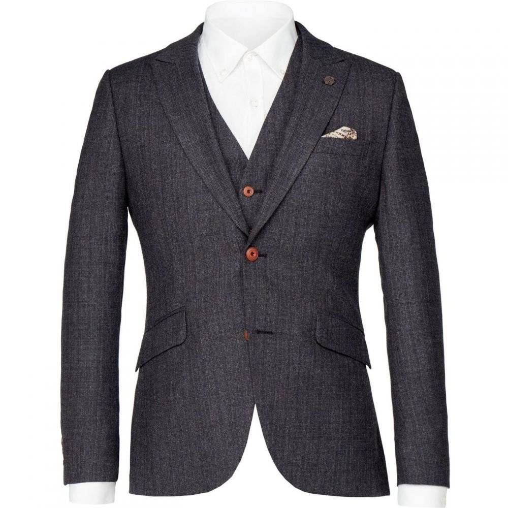 ギブソン Gibson メンズ アウター スーツ・ジャケット【Charcoal Textured Jacket】Charcoal