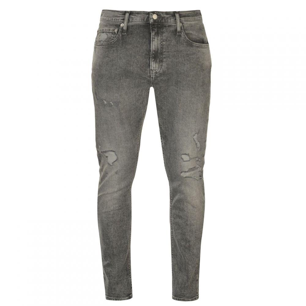 カルバンクライン Calvin Klein Jeans メンズ ボトムス・パンツ ジーンズ・デニム【Slim Ripped Jeans】Tornedo Grey