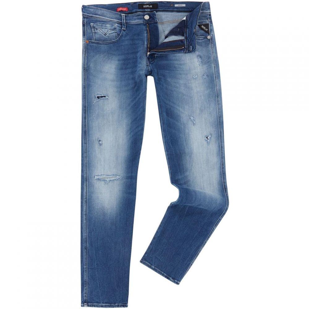 リプレイ Replay メンズ ボトムス・パンツ ジーンズ・デニム【Anbass Slim Fit Jeans】Denim Mid Wash