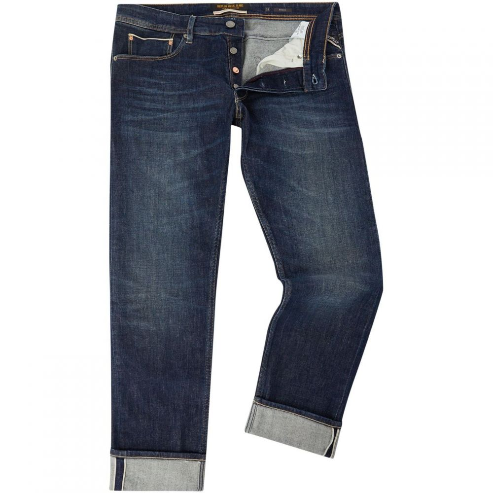 リプレイ Replay メンズ ボトムス・パンツ ジーンズ・デニム【Slim Fit Stretch Selvedge Ronas Jeans】Denim