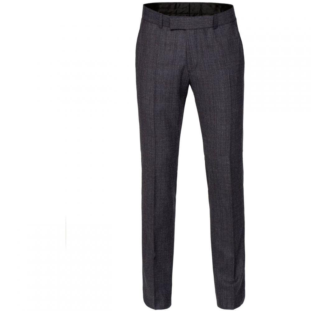 ギブソン Gibson メンズ ボトムス・パンツ スラックス【Charcoal Textured Trousers】Charcoal