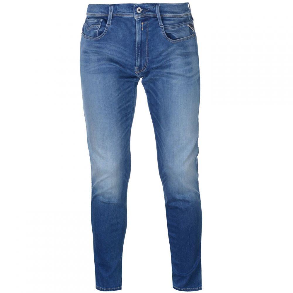 リプレイ Replay メンズ ボトムス・パンツ ジーンズ・デニム【Anbass Stretch Slim Jeans】Mid Blue