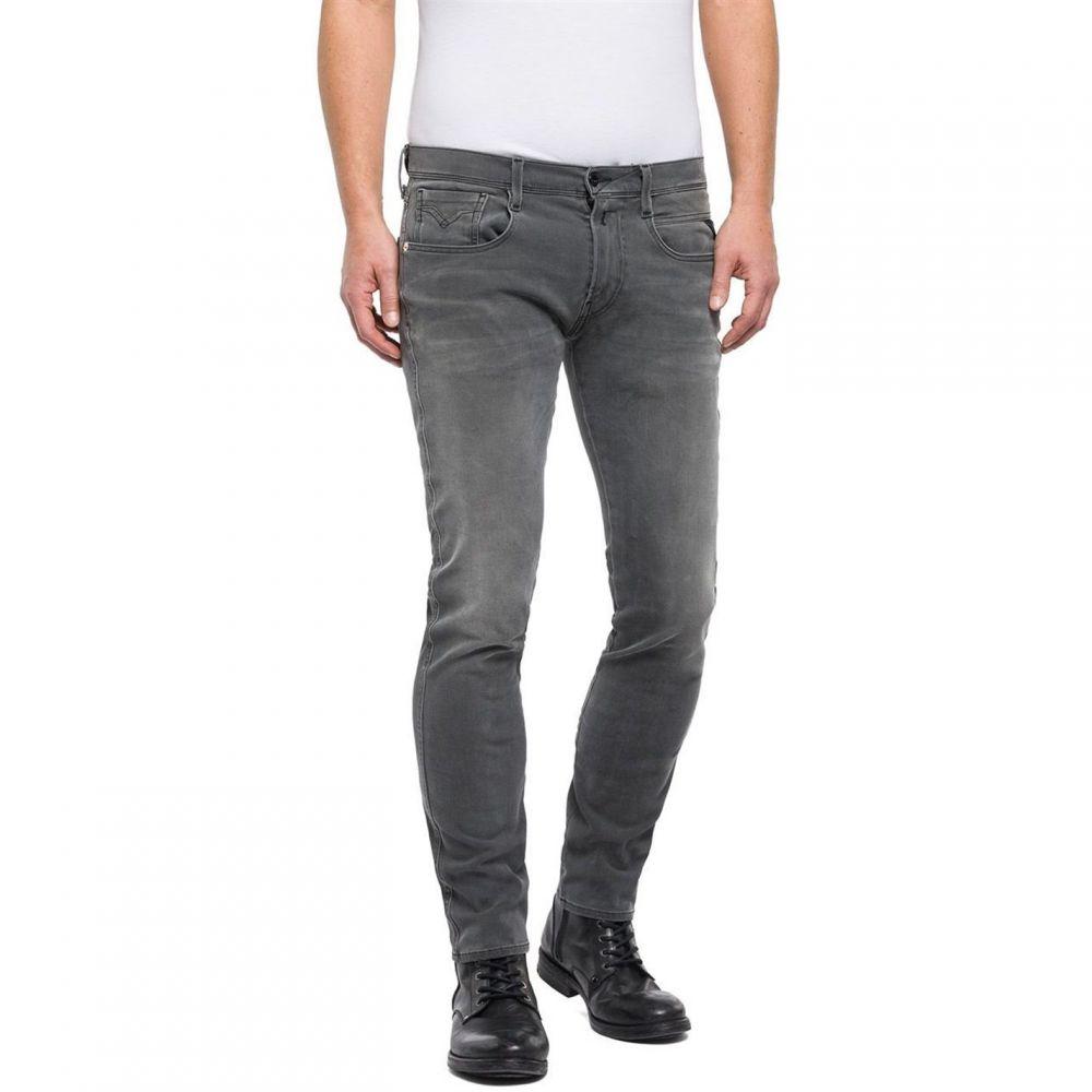 リプレイ Replay メンズ ボトムス・パンツ ジーンズ・デニム【Slim Fit Hyperflex Anbass Jeans】Denim