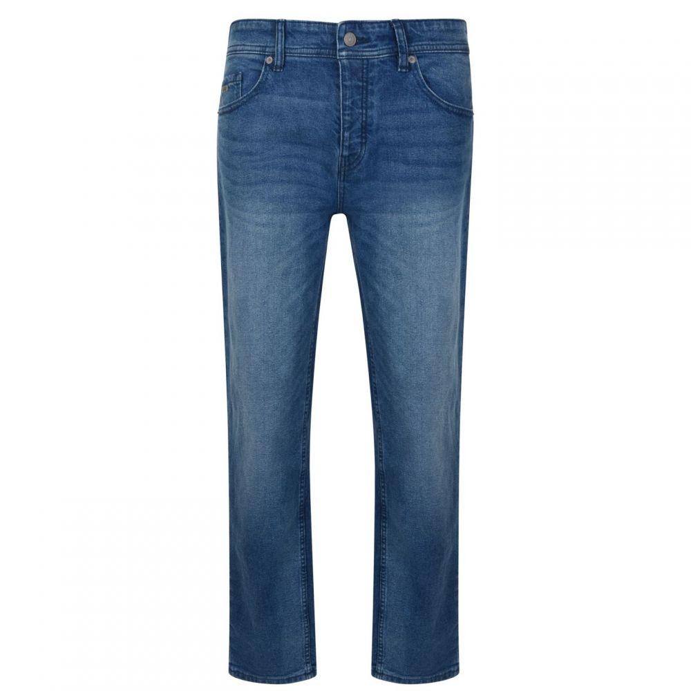 ヒューゴ ボス Boss Casual メンズ ボトムス・パンツ ジーンズ・デニム【Taber Tapered Fit Jeans】Lt Wash
