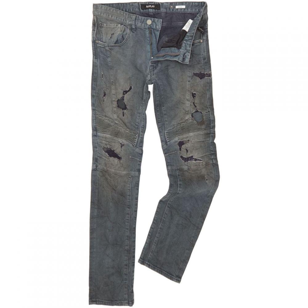 リプレイ Replay メンズ ボトムス・パンツ ジーンズ・デニム【Zaldok Slim Fit Stretch Jean】Denim Dark Wash